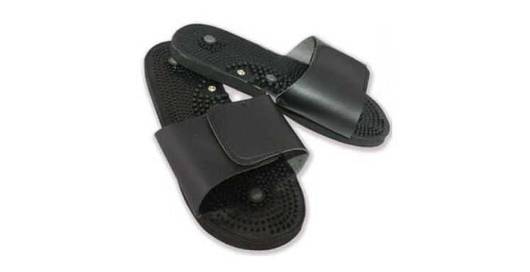Shoes for TENS machines