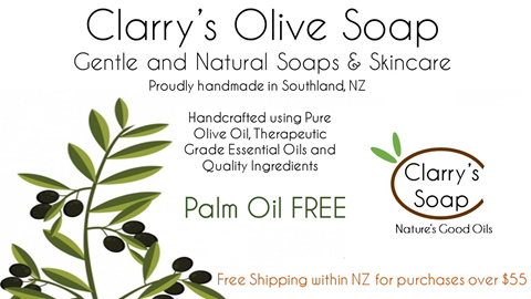 Clarry's Natural Olive Soap