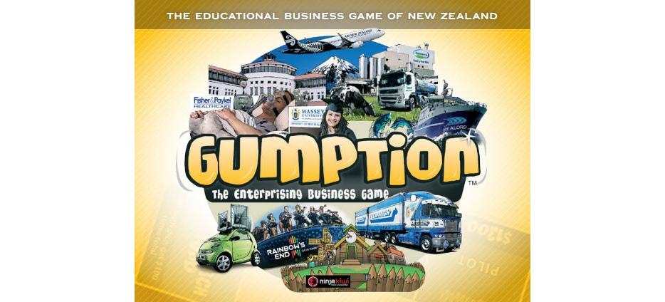 Gumption Board Game