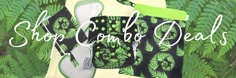 Shop Combo Deals Minimi Reusable nappies wet bags bamboo inserts