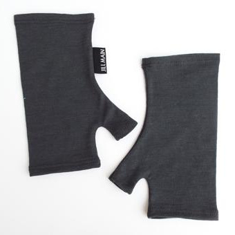 Short Merino Gloves Plain
