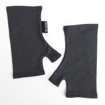 Short Merino Gloves Plain