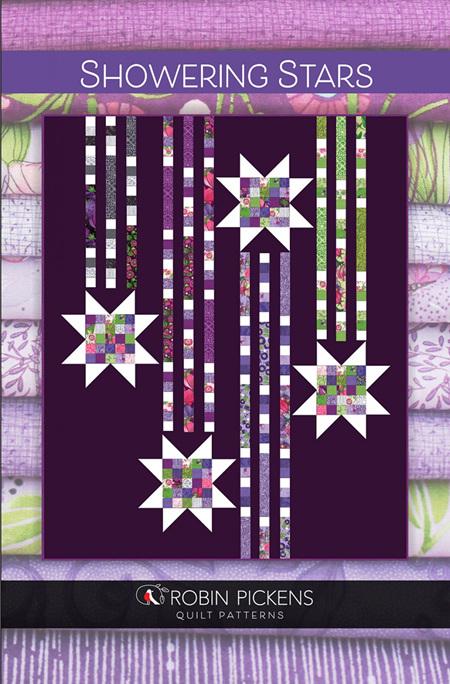 Showering Stars Quilt Pattern