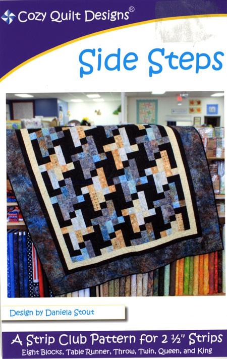 Side Steps Quilt Pattern