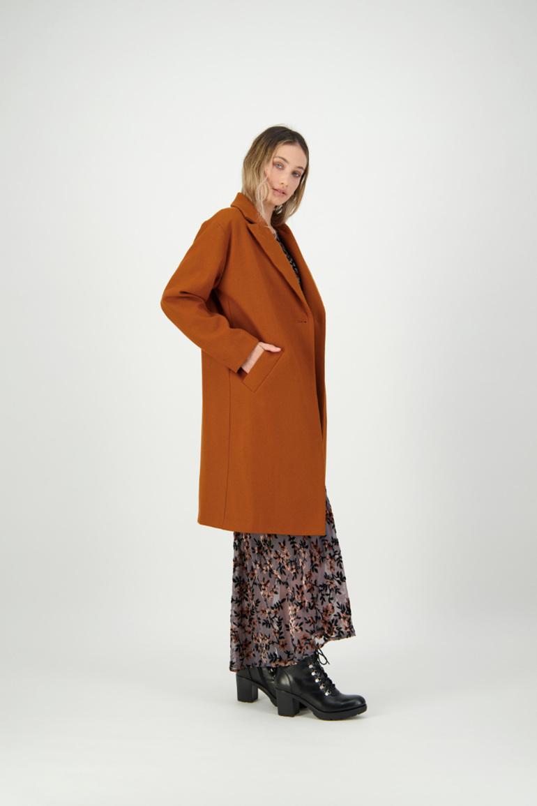 Sidewalk Coat Ginger