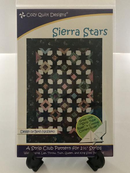 Sierra Stars Quilt Pattern
