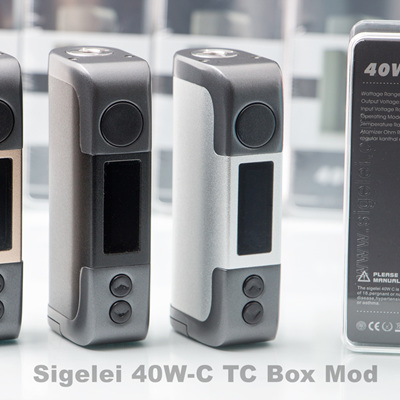 Sigelei 40W-C TC Box Mod