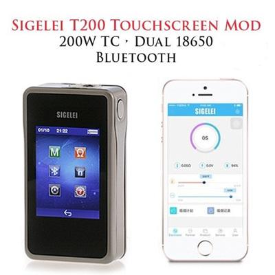 Sigelei T200 Touchscreen 200W TC vv/vw Mod