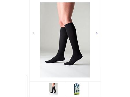 SIGVARIS Travel Sock 1 Blk EU36-37