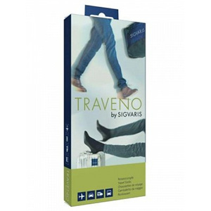 SIGVARIS Travel Sock 3 Blk EU40-41