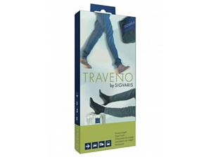 SIGVARIS Travel Sock 6 Blk EU46-47