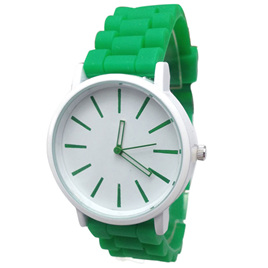 Silicone Adults Watch - Green