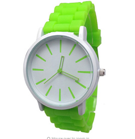 Silicone Adults Watch - LIME