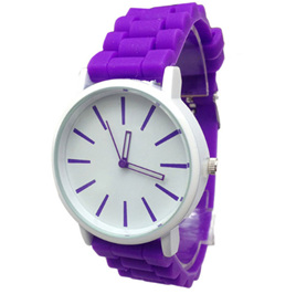 Silicone Adults Watch - Purple
