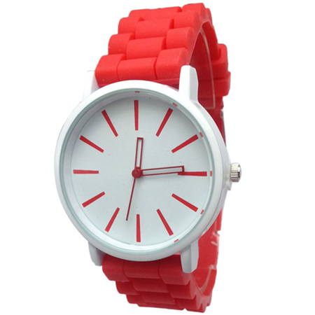 Silicone Adults Watch - RED