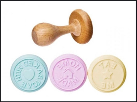 Silicone Cookie Stamp Set