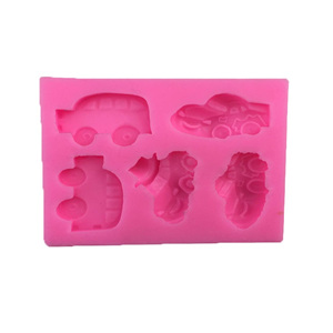 SILICONE MOULD - CARS (FLAT MOULD)