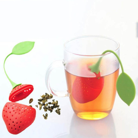 Silicone Strawberry Infuser