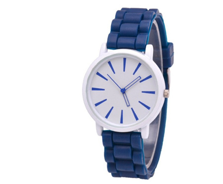 Silicone Watch - Navy Blue
