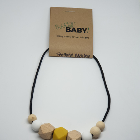 Silicone & Wood Necklaces