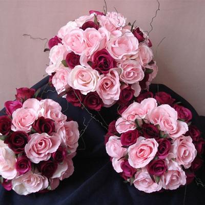 Pink and Fushia Rose Posy