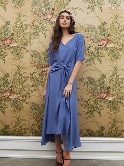 Silk Mai Tai Dress