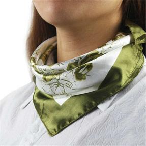Silky Green Scarf