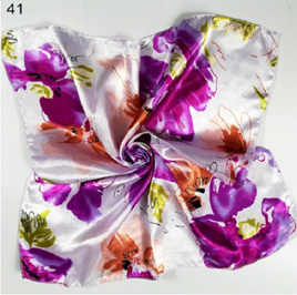 Silky Scarf  - Abstract Floral