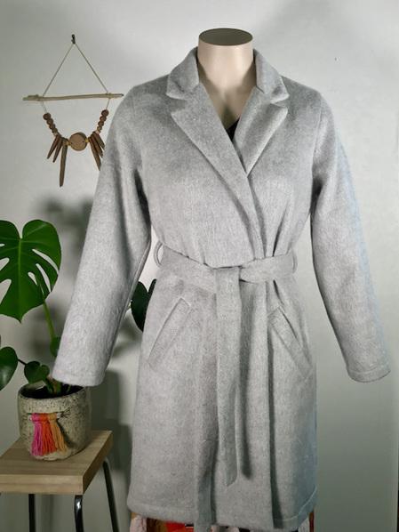 Silver Aurora coat