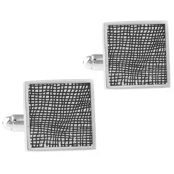 Silver Coloured Cufflinks