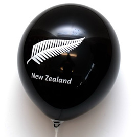 Silver Fern Balloon