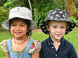 Silver Ferns Bucket Hat - Child size large