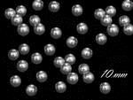 Silver pearls 10mm - pack of 100