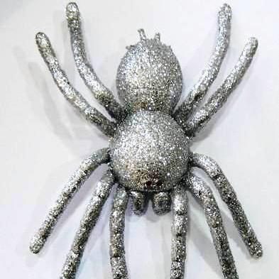 Silver Spider Tarantula 20cm