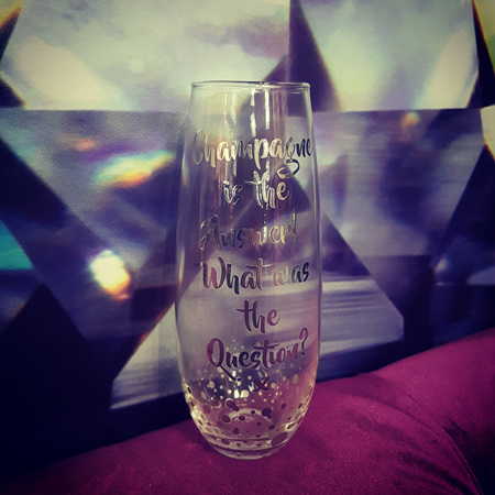Silver Stemless Flutes