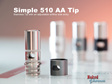 Simple Adjustable Airflow 510 Tip
