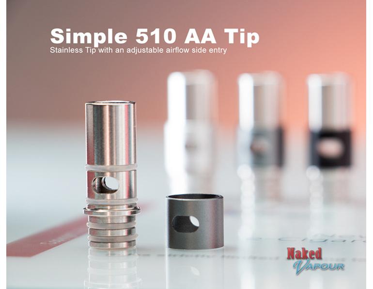 Simple Adjustable Airflow 510 Tip