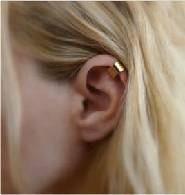 Simple Ear Cuff - Gold