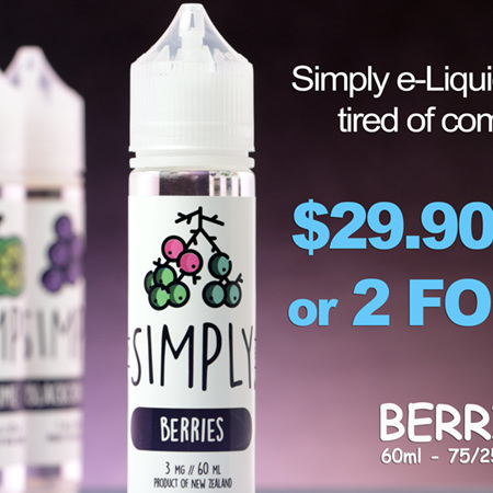 Simply - Berries - 60ml - e-Liquid