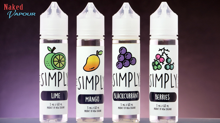 Simply e-Liquids now at Naked Vapour