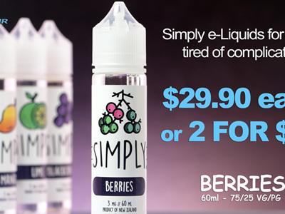 Simply - Berries - 60ml - e-Liquid