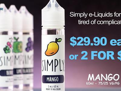 Simply - Mango - 60ml - e-Liquid