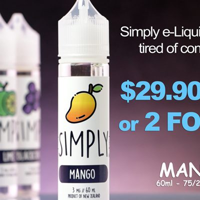 Simply - Mango - 60ml - e-Liquid