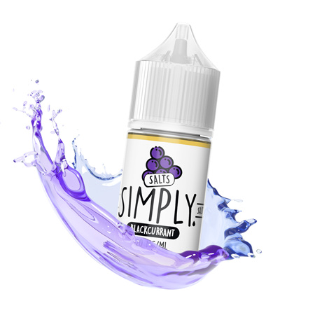 Simply Salts - Blackcurrant - 30ml - e-Liquid