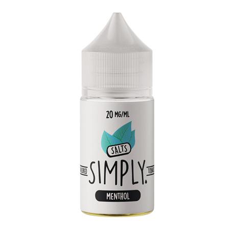 Simply Tobacco Salts - Menthol - 30ml - e-Liquid