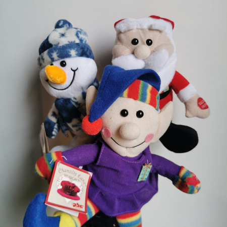 Singing Christmas Teds