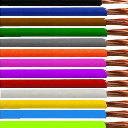 Single Colours 10 Amp 1.13m2 Cable