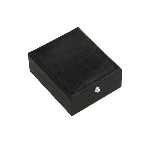 Single cufflink storage box