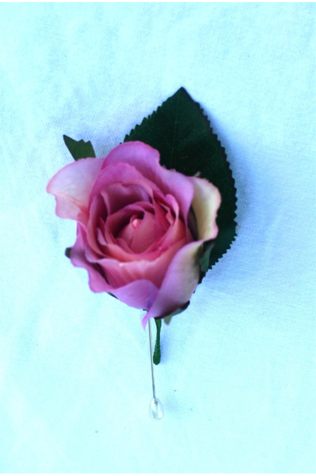 single rose buttonhole