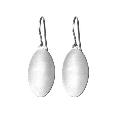 Single Stepping Stone Earrings